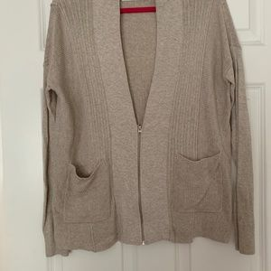 Abercrombie and Fitch half-zip cardigan